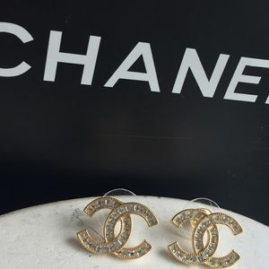 Authentic Chanel Swarovski Crystal Earrings